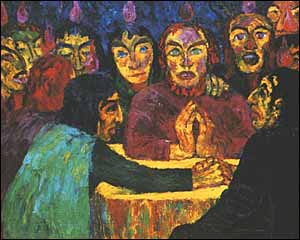 Emil Nolde (1867-1956), Pentecost (Pfingsten) (1909)