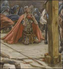 The Confession of St. Longinus, by James J. Tissot